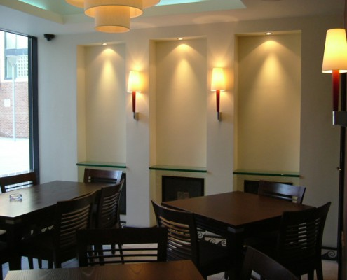 ilforno Restaurant Liverpool-Feature Wall